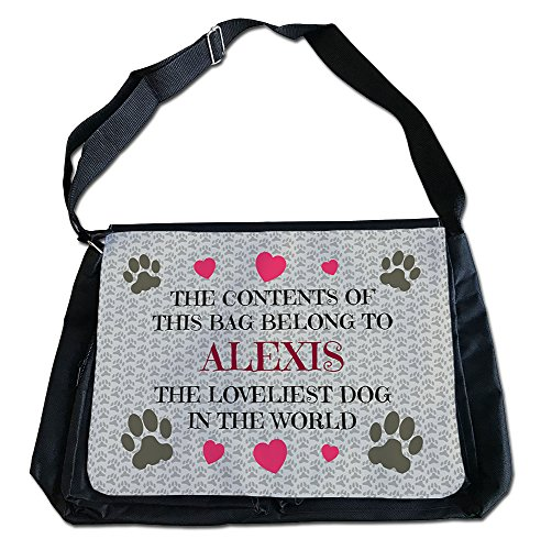 Bag Name Alexis 40cm 5cm x 27 Dog Personalised Courier I1wqvz