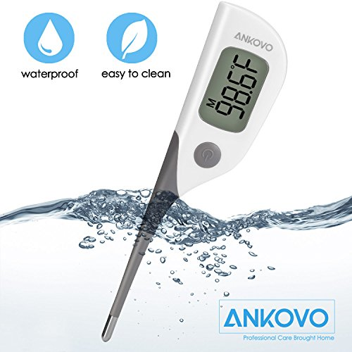 ANKOVO Thermometer Medical Digital Oral Rectal and Armpit for Baby Fast 8...
