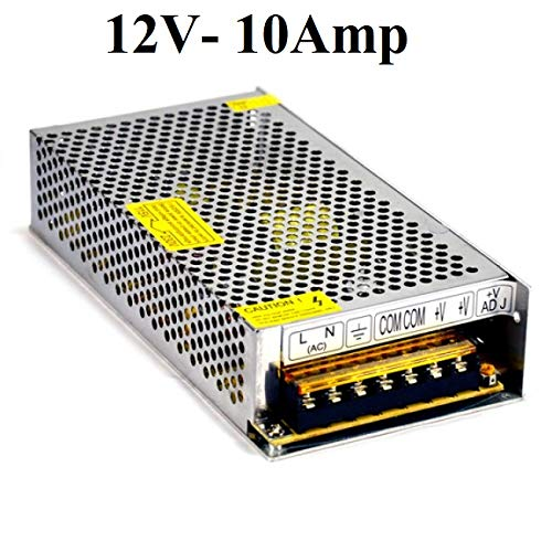ACCIER 12V 10Amp 120W DC Power Supply Driver for CCTV: Amazon in