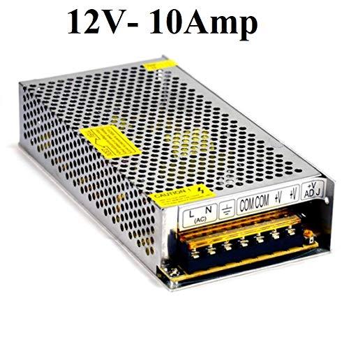 ACCIER 12V 10Amp 120W DC Power Supply Driver for CCTV