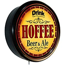 HOFFEE Beer and Ale Cerveza Lighted Wall Sign