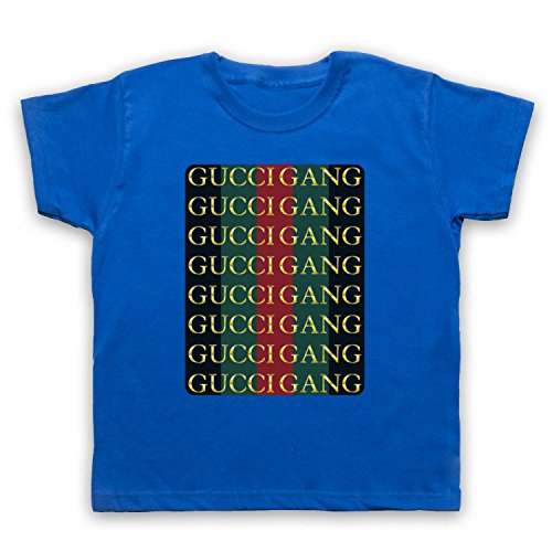 9c3af13d1 Inspired Apparel Inspired by Lil Pump Gucci Gang Unofficial Kids T-Shirt -  Buy Online in Bahrain. | Clothing Products in Bahrain - See Prices, ...