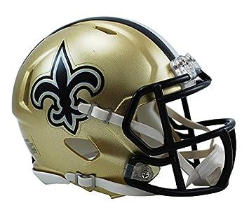 306cfcb559c New Orleans Saints Speed Mini Helmet  Amazon.fr  Sports et Loisirs
