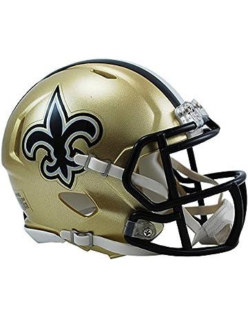 Riddell NFL NEW ORLEANS SAINTS Replica NFL Mini Helmet 358eeb64893