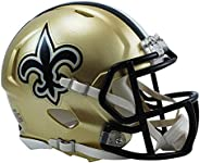 Riddell RIDDMININORSP NFL New Orleans Saints Revolution Speed Mini Helmet