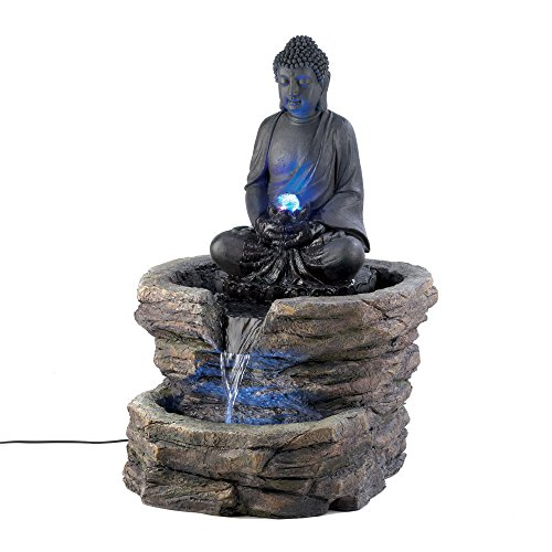 Buddha Fountain With Led Light in US - 4