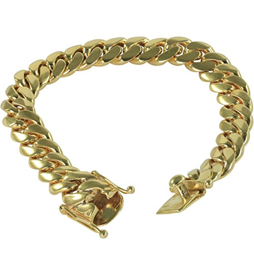 SOLID 14k Yellow Gold 8.5 Inch