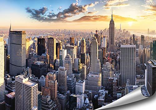 ARTBAY New York Poster HD XXL - 46,8 x 33,1 Inch (118.8 x 84 cm) - Manhattan, New York, USA | Premium Quality (Best Motivational Wallpapers Hd)