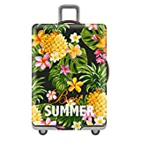 Luggage Cover Travel Suitcase Protector Elastic Dust proof Bag Protective Trolley Suitcase (2, L:26~28 Inch)