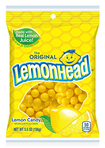 Lemonhead Candy, 5.5 Ounces