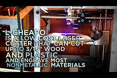 Amazon.com: L-Cheapo Mk4 - Laser Cutter Attachment for 3D ...