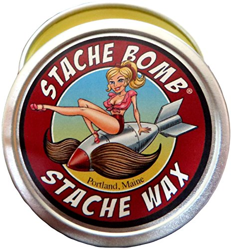 Stache Bomb Stache Wax Mustache Wax Made In Maine -