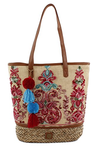 Inay Shoulder EFERRI Bag Nature Bluebags Natural Women's Beige Bolso Natural pPtxq