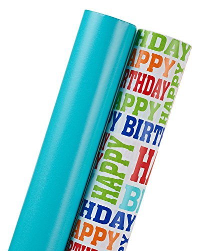 American Greetings Two-Roll Paper Roll -