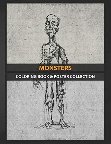 Coloring Book & Poster Collection: Monsters Zombie #1 Comics: Amazon.es: Coloring, MonstersMU, Coloring, MonstersMU: Libros en idiomas extranjeros