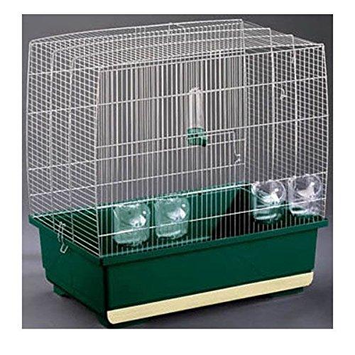 Imac Irene 4 de cromo 59 x 38 x jaula de pájaro 59 cm: Amazon.es ...