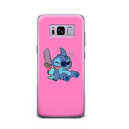 Amazon.com: gspstore Galaxy S9 Plus funda Lilo & Stitch ...
