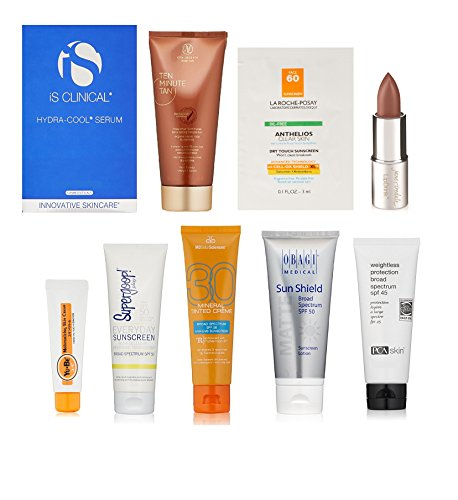 Luxury Sun Care Sample Box (get an equal credit for future purchase of select luxury sun care - Sun Com