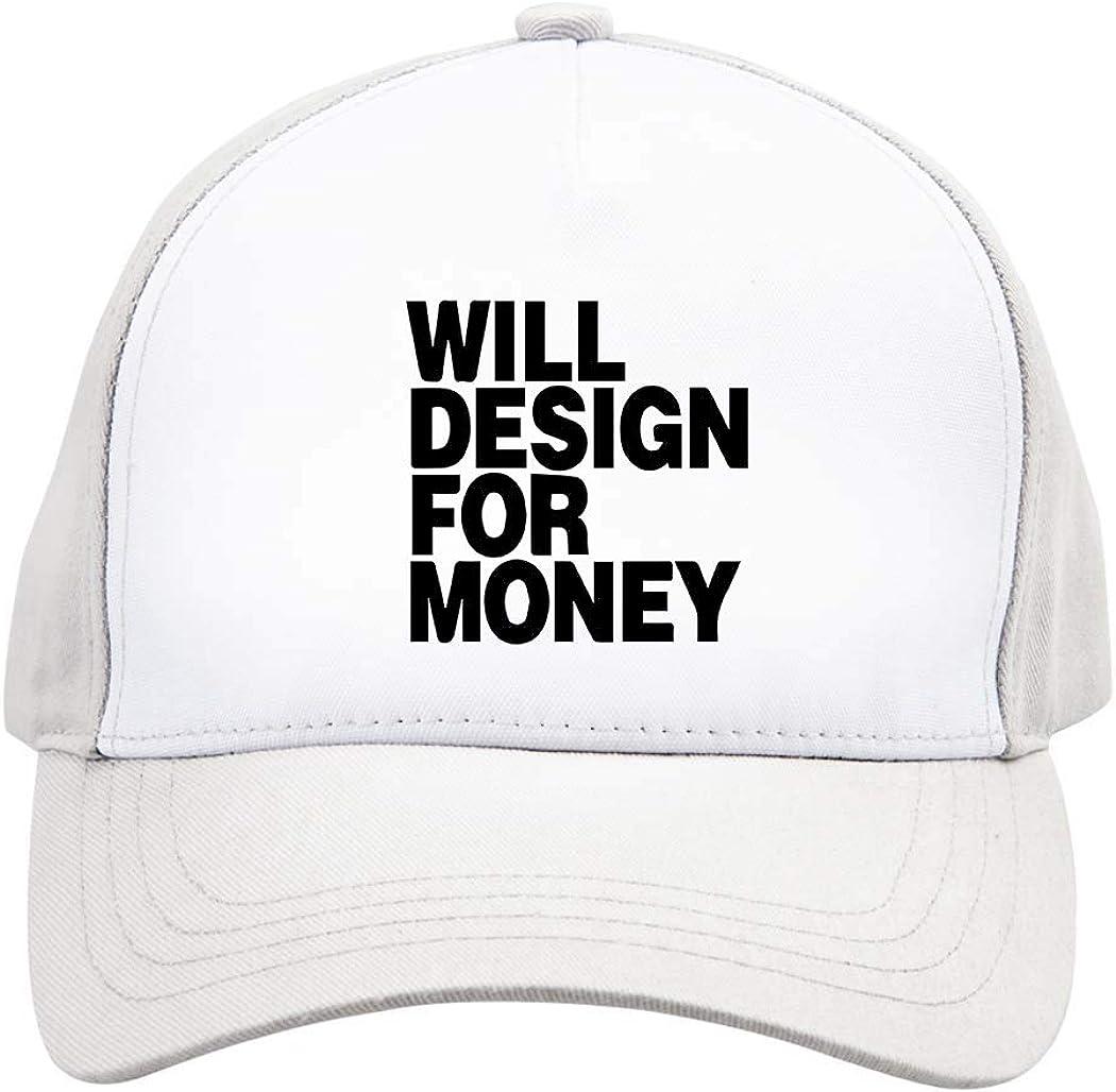 Baseball Cap Money Design Adjustable Men Women Unisex Outdoor Sports Hat