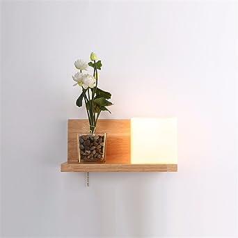 Lkjdfjeefs Mode Einfache Schlafzimmer Schlafzimmer Nachttischlampe
