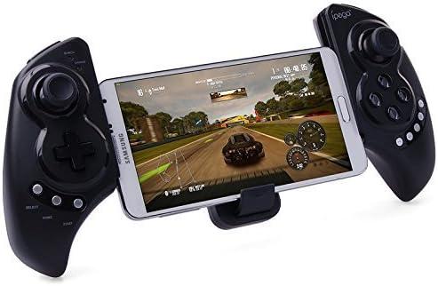 Recargable Multimedia Bluetooth Controlador con Soporte Telescópico para iPhone / Android Smartphone Tableta PC para iphone 6 5 5s 4 4s , Samsung galaxy note 2 3 4 S3 S4 S5 , Lg G3 G2 , HTC one m7 m8