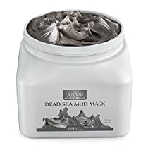 Anjou Dead Sea Mud Mask (17 oz/482 g, Made in Israel) for Facial and Body Treatment