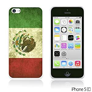 OnlineBestDigitalTM - Flag Pattern Hard Back Case for Apple iPhone 5C - Mexico