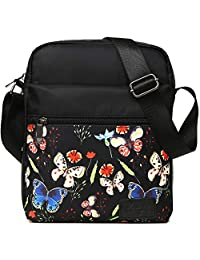 Kemy's Girls Crossbody Purses Teen Girl Floral Small Cross Body Shoulder Bags Messenger Purse for Traveling, Easter Gift