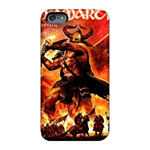 CharlesPoirier Iphone 6plus Perfect Hard Cell-phone Case Allow Personal Design Fashion Manowar Band Series [YVO18632BlqP]