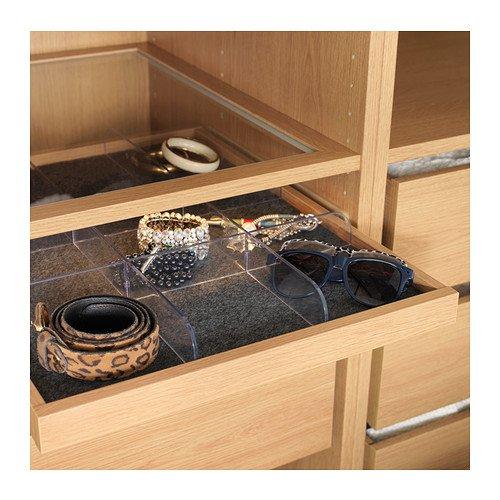 Ikea KOMPLEMENT - Bandeja extraíble, Efecto Roble - 50x58 cm: Amazon.es: Hogar