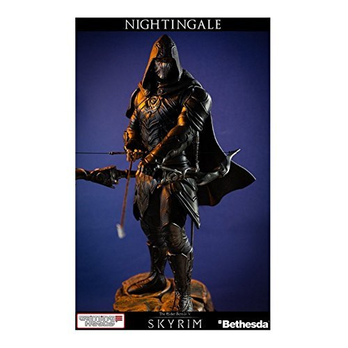 Gaming-Heads-The-Elder-Scrolls-V-Skyrim-The-Nightingale-Statue-by-Gaming-Heads