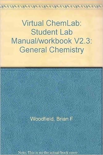 Virtual ChemLab General Chemistry Laboratories Fundamental