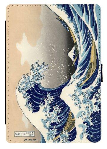 Rikki Knight Katsushika Hokusai Art A Big wave of Kanagawa D