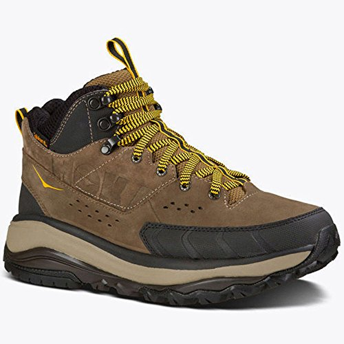 HOKA ONE ONE Tor Summit Mid WP Running Shoe - Men's Brown/Golden Rod 7