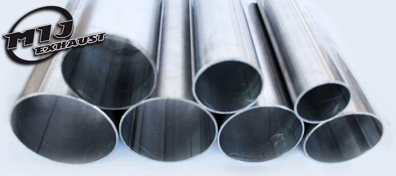 250mm - 10 Long Exhaust Tube Pipe Stainless Steel Repair Section T304 38mm x 1.5mm Wall