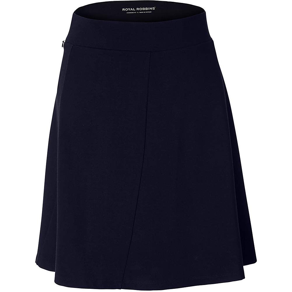 Royal Robbins Womens Geneva Ponte Skirt (L - Naval) by Royal Robbins
