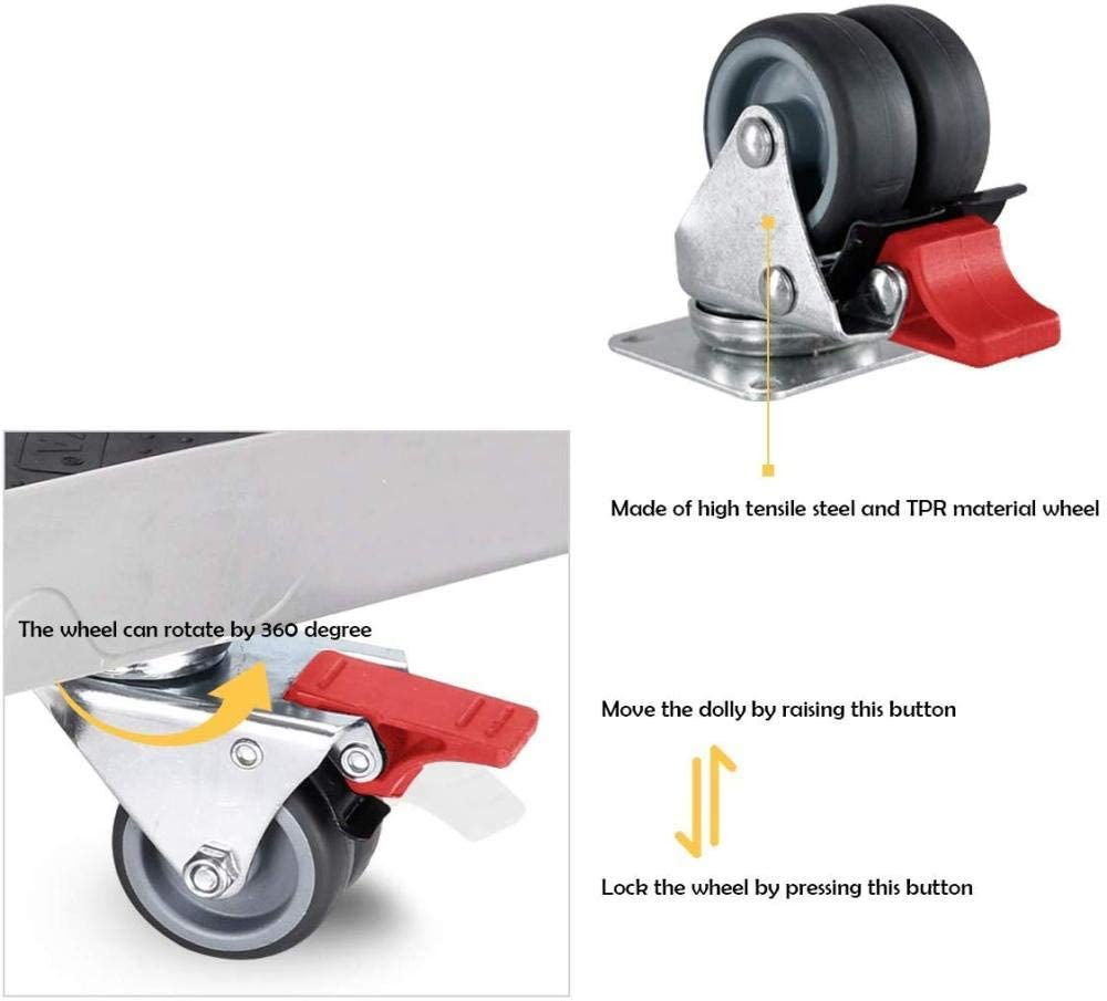 telesc/ópico para lavadora y secadora resistente base m/óvil ajustable Soporte para lavadora con 4 ruedas giratorias de goma con bloqueo