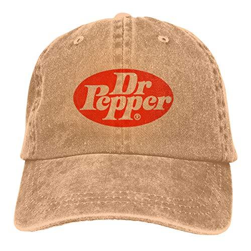 Jeans Hat Dr Pepper Baseball Cap Sports Cap Adult Trucker Hat Mesh -