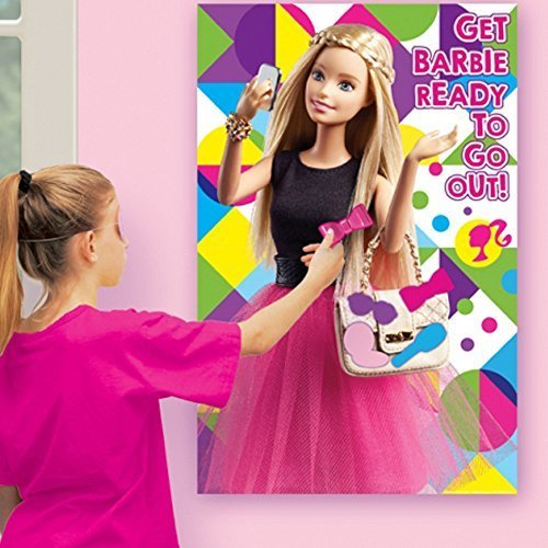 Barbie Poster - Barbie 'Sparkle' Party Game Poster (1ct)