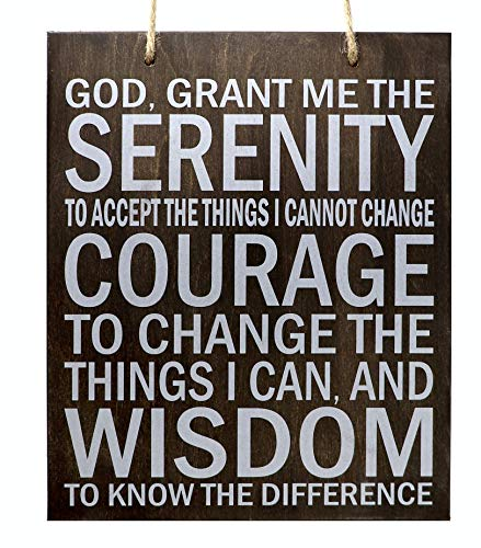 JennyGems Serenity Prayer Hanging Motivational product image