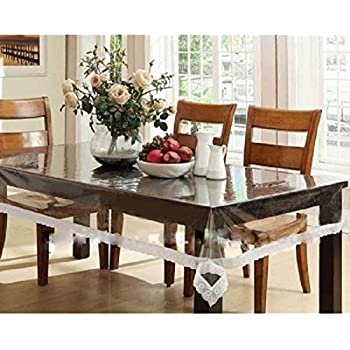Amazoncom Benson Mills Clear Plastic Tablecloth 60 Inch by 84