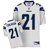 Reebok San Diego Chargers Ladainian Tomlinson Authentic White Jersey Size: Size 50