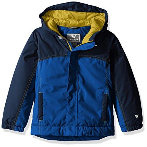 (White Sierra Toddler Boys Casper Insulated Jacket, Shield Blue, 2 Tall )