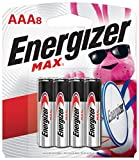 Health & Personal Care : Energizer AAA Batteries (8 Count), Triple A Max Alkaline Battery - Packaging May Vary