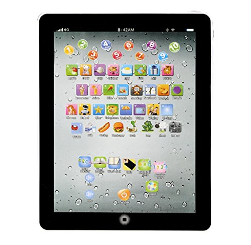 SMTSMT Child Touch Type Computer Tablet English Learning