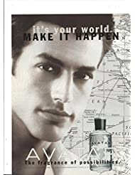 934e696f46 PRINT AD For 1998 Avatar Cologne It s Your World Make It HappenPRINT AD