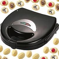 Syntrox Germany Chef Maker 1000 Watt Nuss-Wunder Nussbäcker Waffeleisen