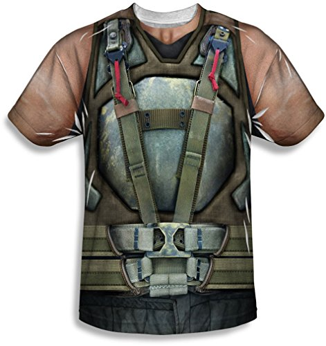Dark Knight Rises - Bane Costume T-Shirt Size XXL]()