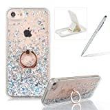 Best Luxury Iphone Cases - Hard Case for iPhone 7 Plus,Plastic Glitter Case Review