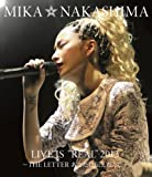 """MIKA NAKASHIMA LIVE IS""""REAL""""2013 ~THE LETTER あなたに伝えたくて~ [Blu-ray]"""